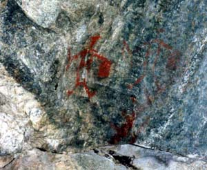 Stein Valley rock art