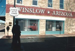 Standin on the corner winslow arizona