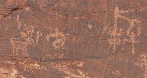 Designs on Homolovi rocks