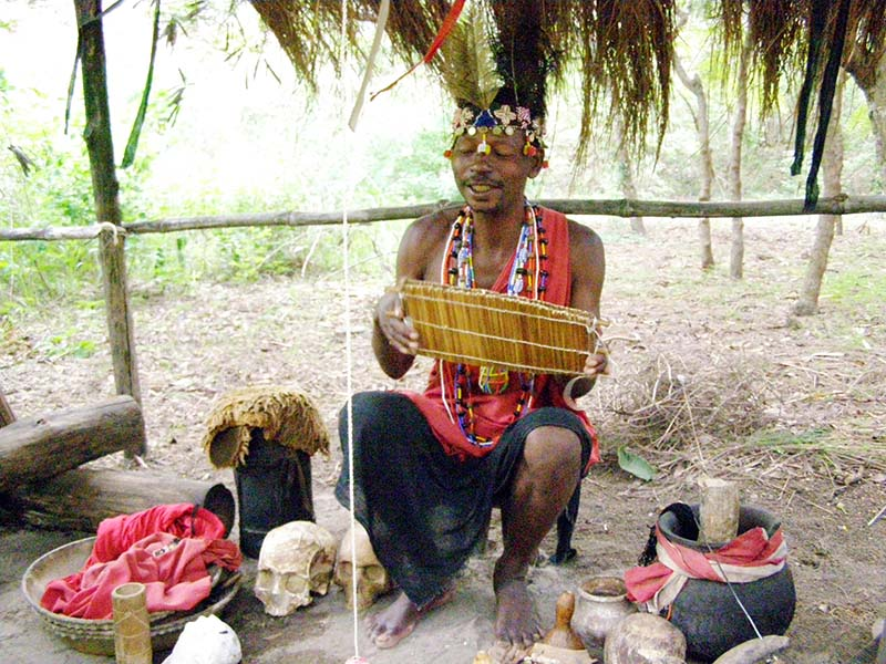 Kenya witch doctor