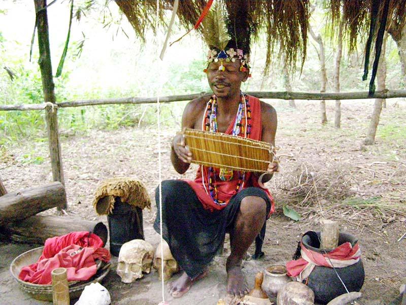 Kenya witch doctor