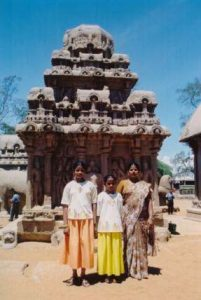 India family at Rathas