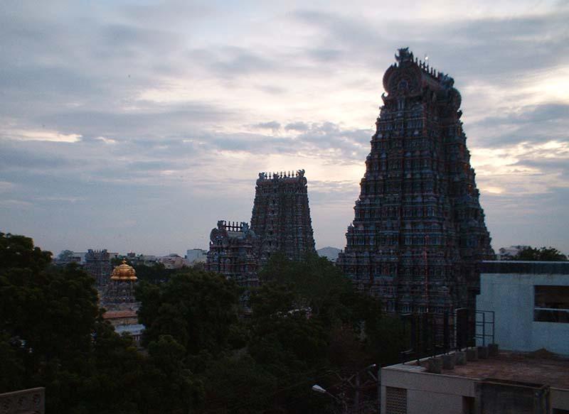 Meekakshi temple Medurai