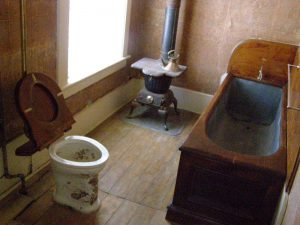 bathroom Mackay house Virginia City