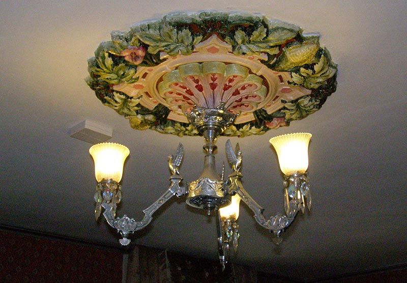 Virginia City Mackay house chandelier
