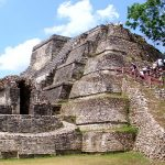 Altun Ha pyramid Belize