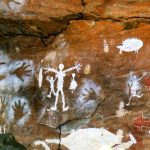 Aboriginal rock paintings