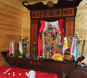 Chinese shrine Barkerville