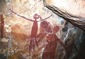 Ang-Gnarra Big Uncle rock painting