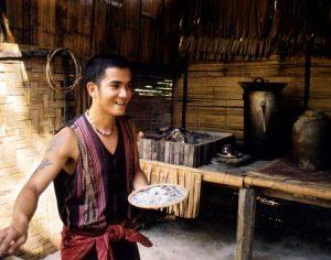 Dunngo serves rice wine