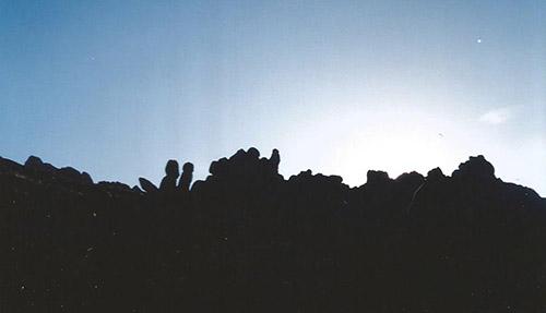 Peru rock formations