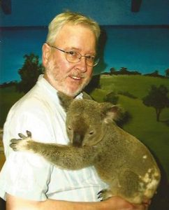 Robert Scheer with Koala