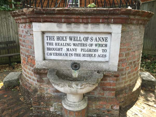Holy well of St Anne