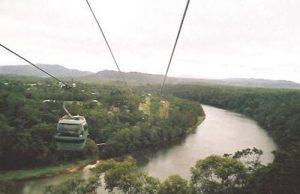 Skyrail tram to Kuranda