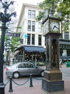 Steam clock in Vancouver's Gastown