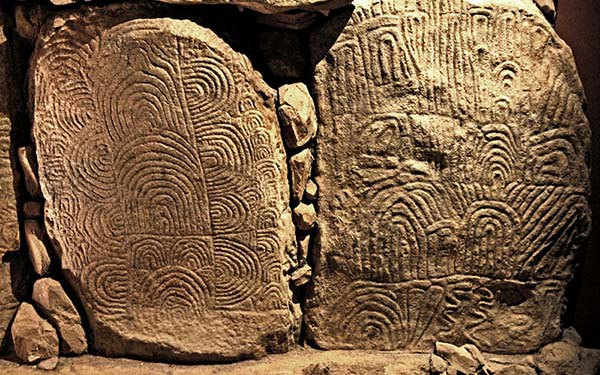 Gavrinis engraved stones