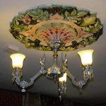 Virginia City Mackay house chandelier