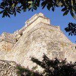 Pyramid of the Magician Uxmal Yucatan